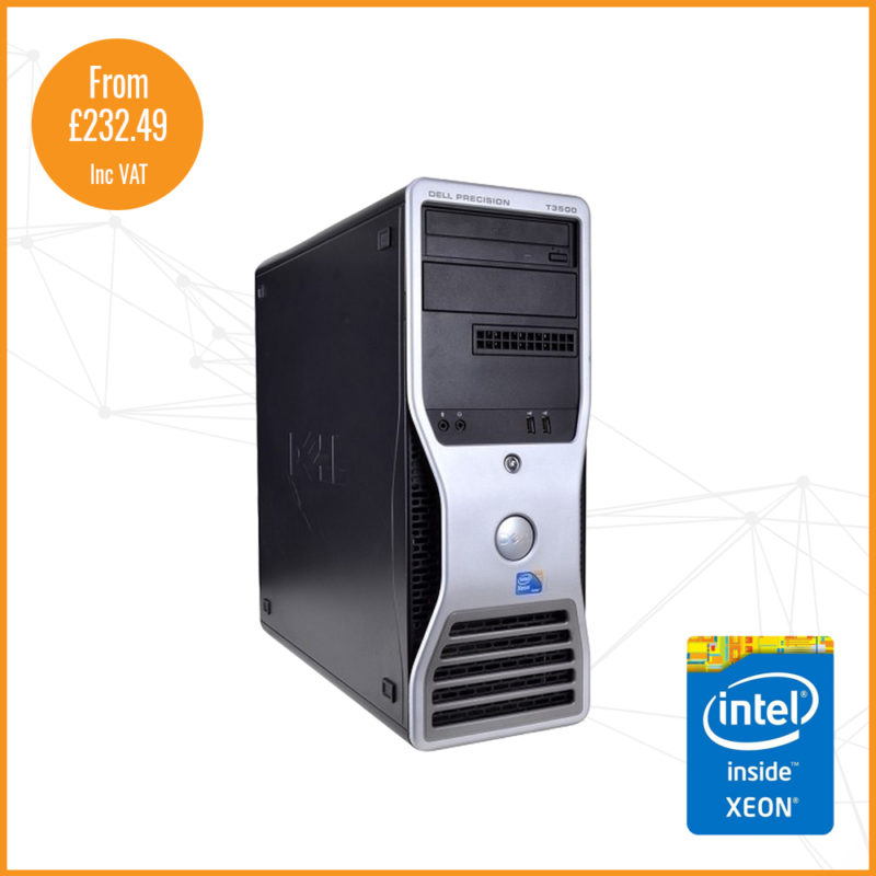 DELL T3500 shop image gold