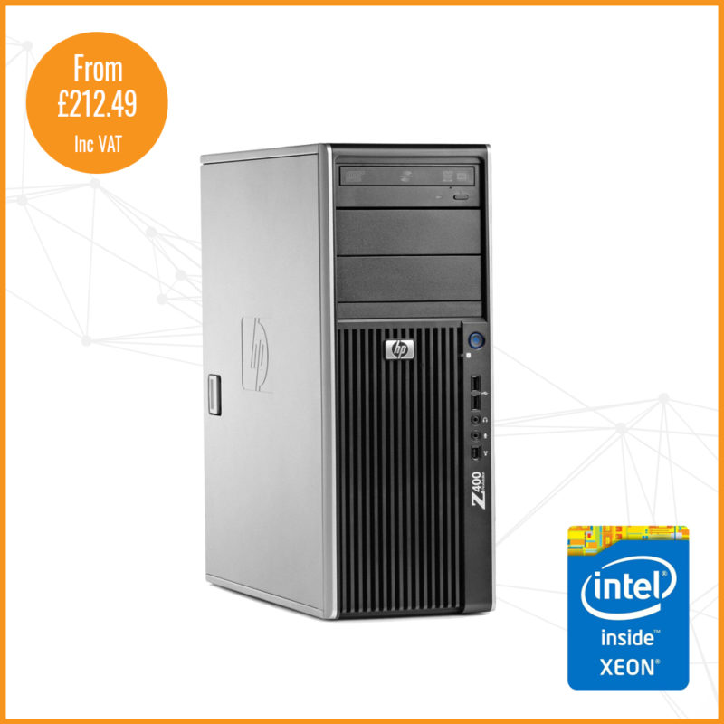 HP Z400 shop image silver