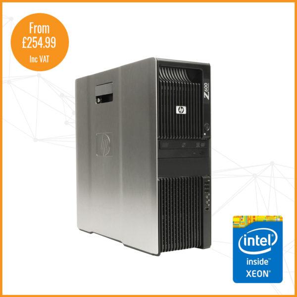 HP Z600 silver shop image