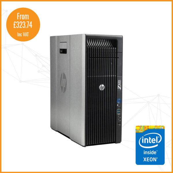 HP Z620 silver shop Image